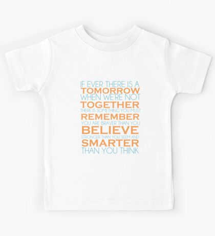You Are Braver Kids Tee