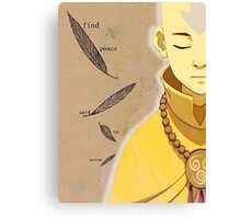 Find Peace Canvas Print