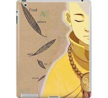 Find Peace iPad Case/Skin