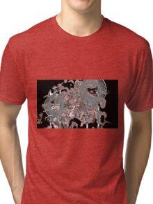 Space Dog Spill Tri-blend T-Shirt
