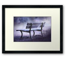 They Met Here Once Framed Print
