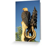 Totem Topper Greeting Card