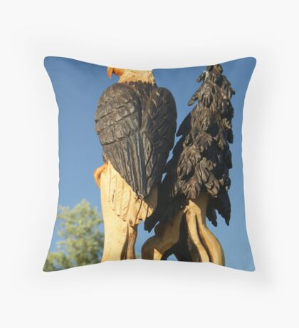 Totem Topper Throw Pillow