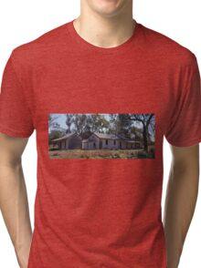 Shearers' Quarters, Callandoon, Qld, Australia (panorama) Tri-blend T-Shirt