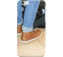Waiting to Board iPhone Case/Skin
