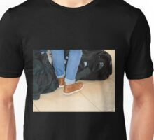 Waiting to Board Unisex T-Shirt