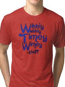 Wibbly Wobbly Timey Wimey... stuff 2 Tri-blend T-Shirt