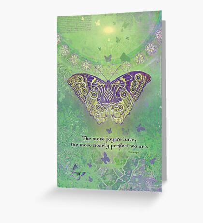 The more joy we have Greeting Card