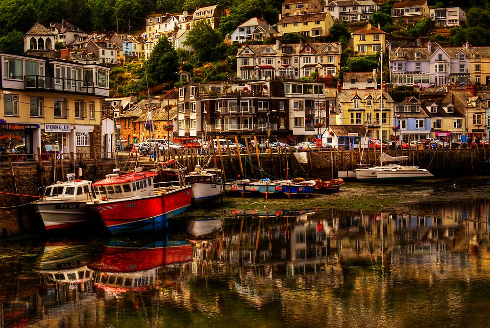 Looe Harbour by ajgosling