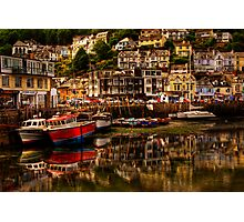 Looe Harbour Photographic Print