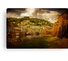 Looe Harbour 2 Canvas Print
