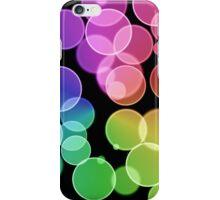 Rainbow Bubbles iPhone Case/Skin