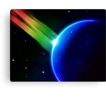 Rainbow Moon Canvas Print