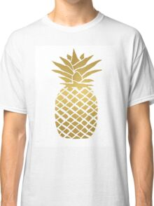 gold foil pineapple Classic T-Shirt