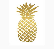 gold foil pineapple Unisex T-Shirt