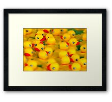 Never Too Busy To Say Hello! Framed Print
