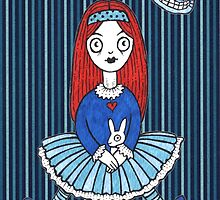 Red Haired Alice by Anita Inverarity