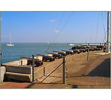 COWES GUNS Photographic Print