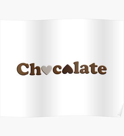 Chocolate Love Poster