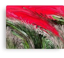 Forest Fire - Abstract Canvas Print