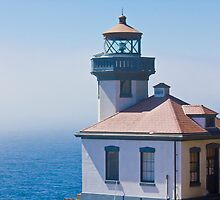 Lime Kiln Lighthouse by pinklilypress