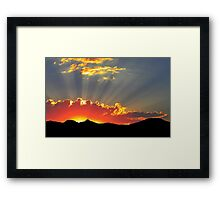 """Sunshine Superman"" Framed Print"