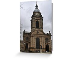 St. Philip's Cathedral Birmingham Greeting Card