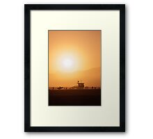 Sunset - L.A. Framed Print