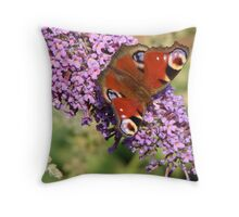 Bright Wings of Summer Throw Pillow