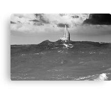 High Waves Canvas Print