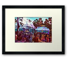 GYMPIE MUSTER- COLLECTION - POETS BREAKFAST-MUSTER CLUB Framed Print