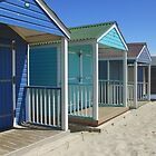 beach huts colour by purpleminx