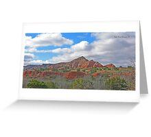 Palo Duro Canyon. Tx. Greeting Card