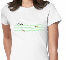 Chevron Nature Womens Fitted T-Shirt