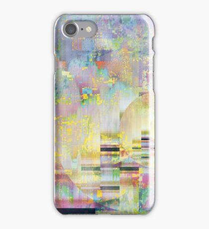 Glitched Patterns iPhone Case/Skin