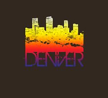 Denver Skyline T-shirt design Unisex T-Shirt