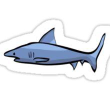Minimalist Shark Sticker