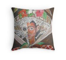 Death Becames You By Ruth Olivar Millan Throw Pillow