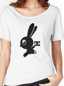 Make your own luck bunny shirt Women's Relaxed Fit T-Shirt