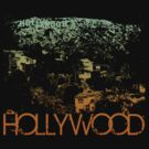 Hollywood Skyline T-shirt Design by FlagSilhouettes