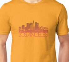Los Angeles Skyline T-shirt Design Unisex T-Shirt