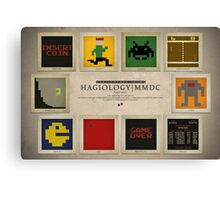 8-bit Life Cycle Canvas Print