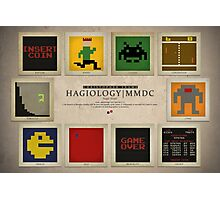 8-bit Life Cycle Photographic Print