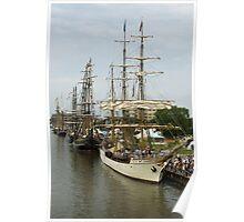 Tall Ships Festival Poster