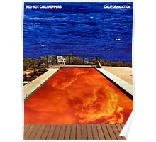 Red Hot Chili Peppers - Californication  Poster