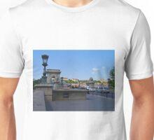 Chain Bridge, Budapest, Hungary Unisex T-Shirt