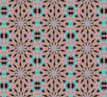 Gray Pink Blue Creative Pattern Sticker
