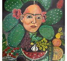 Fruty Frida by Ruth Olivar Millan by Ruth OLIVAR MILLAN