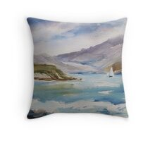 Irish shoreline Throw Pillow