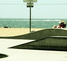 Skate the Beach by Scott DeAngelis